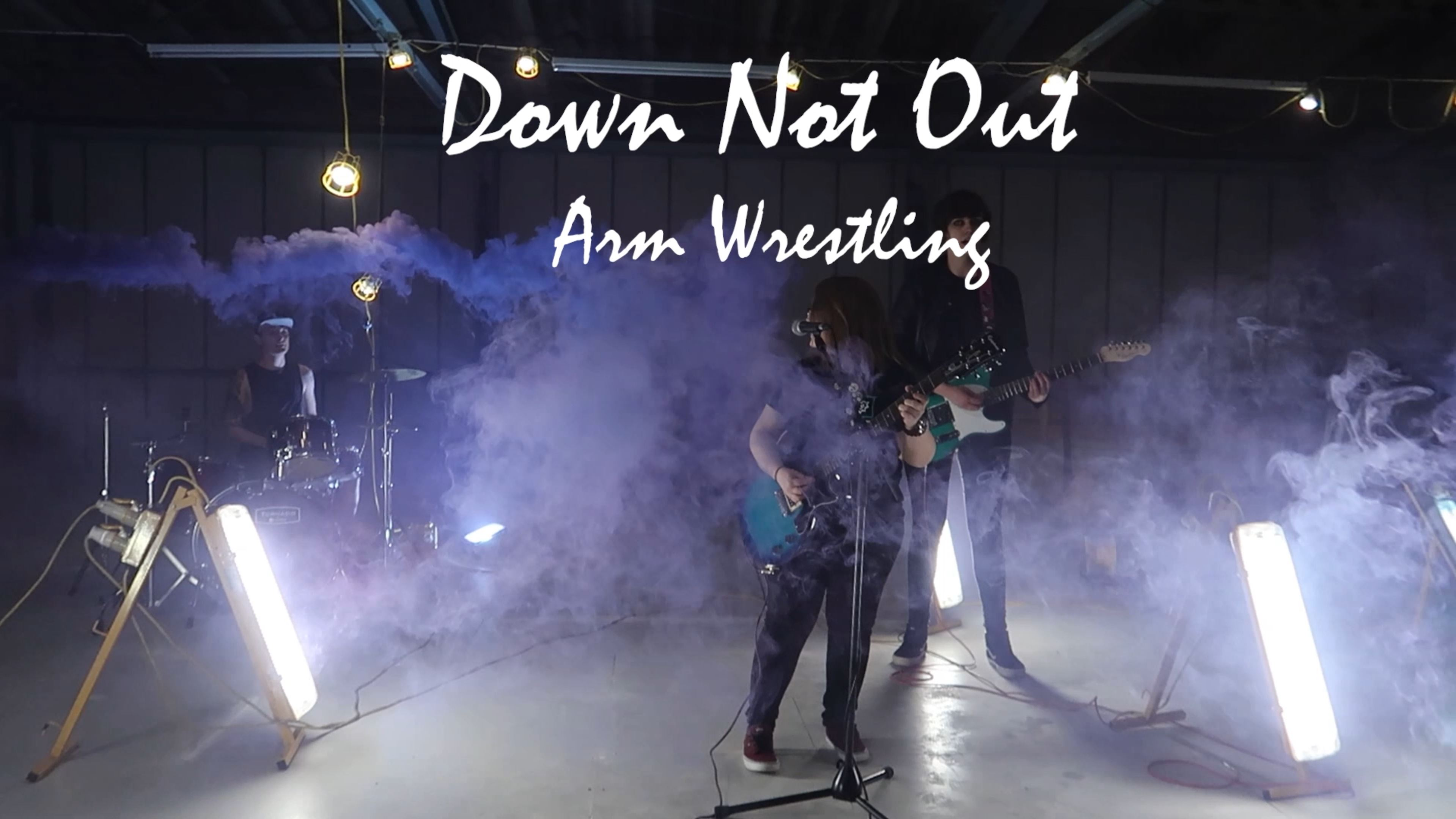 Down Not Out news Down Not Out - Arm Wrestling [OFFICIAL VIDEO]